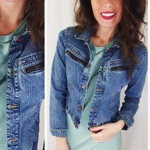 Tommy Hilfiger jean jacket -B6